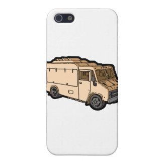 食糧トラック: 基本(クリーム) iPhone 5 カバー