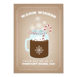食糧ビジネスクリスマスカード カード