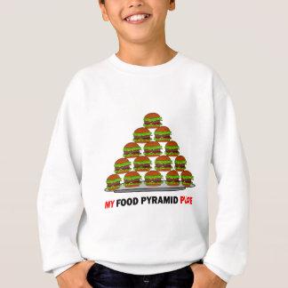 食糧ピラミッド スウェットシャツ
