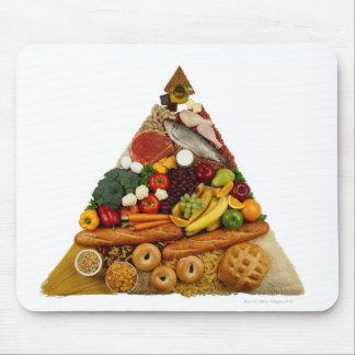 食糧ピラミッド マウスパッド