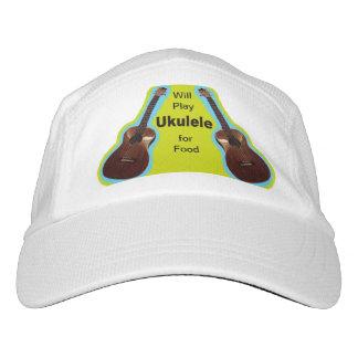 食糧帽子のためのウクレレを遊びます ヘッドスウェットハット