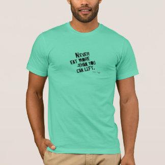食糧見事な食糧。 Tシャツ