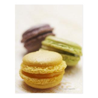 食糧、食糧および飲み物のデザート、クッキー、フランス語、 ポストカード