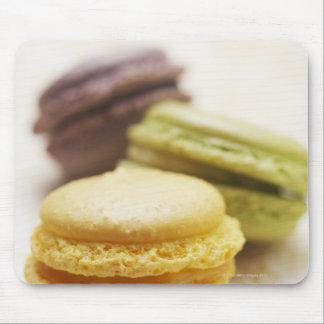 食糧、食糧および飲み物のデザート、クッキー、フランス語、 マウスパッド