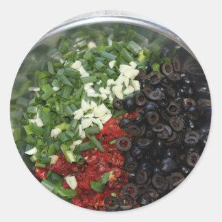 食糧Tricolore ラウンドシール