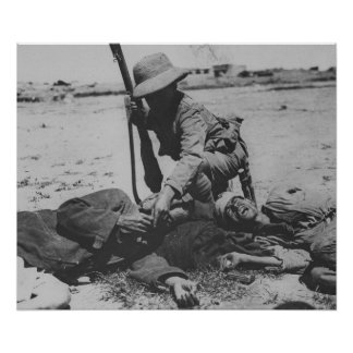 飢えたトルコの兵士 ポスター