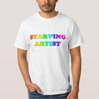 飢えた芸術家 Tシャツ