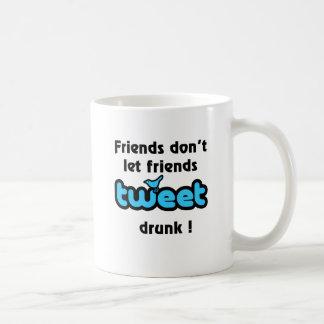 飲まれるさえずり コーヒーマグカップ