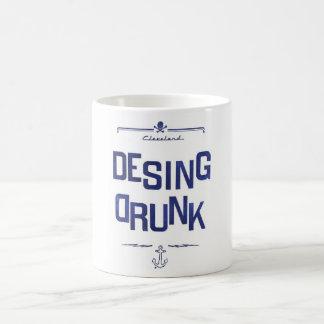 飲まれるデザイン コーヒーマグカップ
