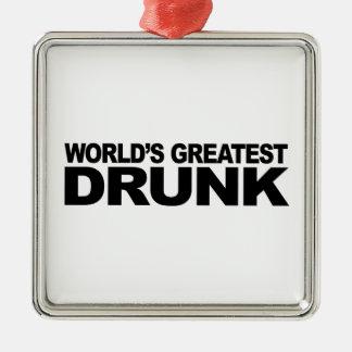 飲まれる世界で最も素晴らしい メタルオーナメント