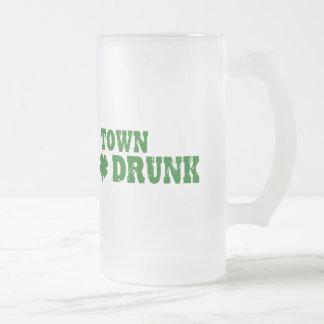 飲まれる町 フロストグラスビールジョッキ