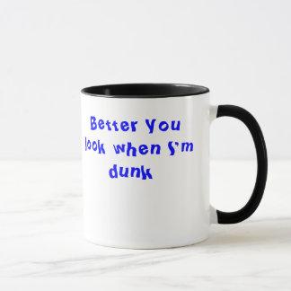 飲まれる マグカップ