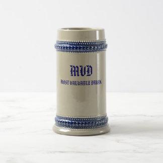 飲まれるMVDの最も貴重 ビールジョッキ