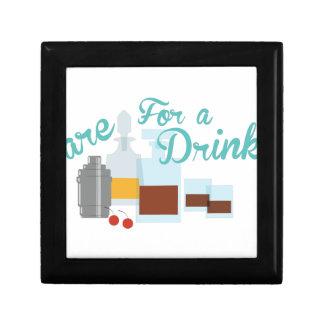飲み物のための心配 ギフトボックス