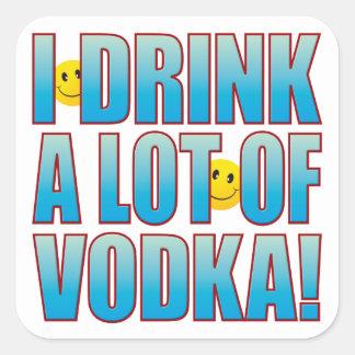 飲み物のウォッカの生命B スクエアシール