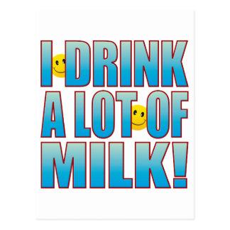 飲み物のミルクの生命B ポストカード