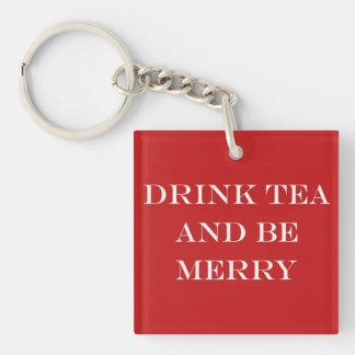 飲み物の茶はメリーであり、 キーホルダー