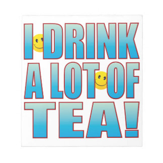 飲み物の茶生命B ノートパッド