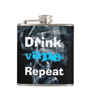 飲み物のVapeのおもしろいな繰り返し フラスク