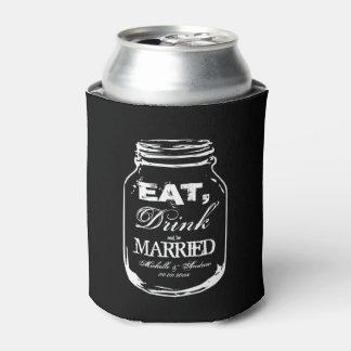 飲み物をあります結婚したなメーソンジャーの結婚式ができますクーラー食べて下さい 缶クーラー