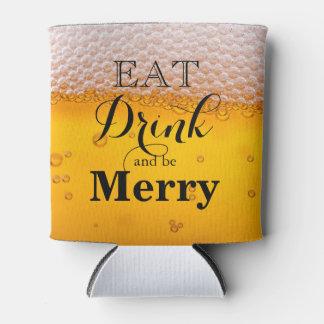 飲み物を食べ、メリーがあって下さい 缶クーラー