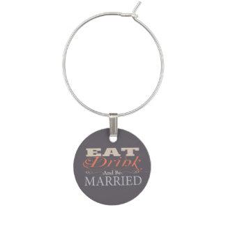 飲み物を食べ、結婚したな結婚式があって下さい