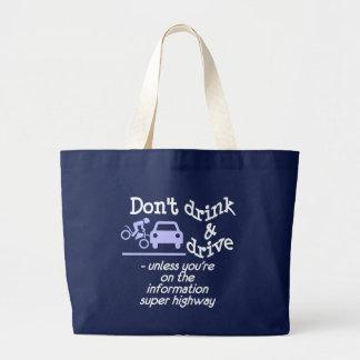飲み物及びドライブバッグ ラージトートバッグ