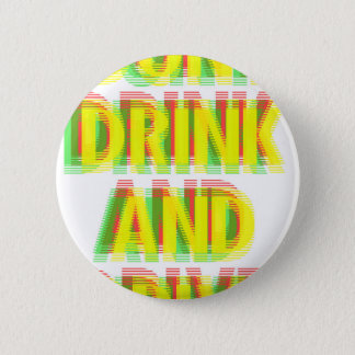 飲み物及びドライブ 5.7CM 丸型バッジ