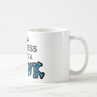 飲み物-ウェートレス--を必要として下さい コーヒーマグカップ