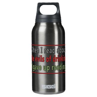 飲むことの悪 断熱ウォーターボトル
