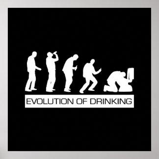 飲むことの進化 ポスター