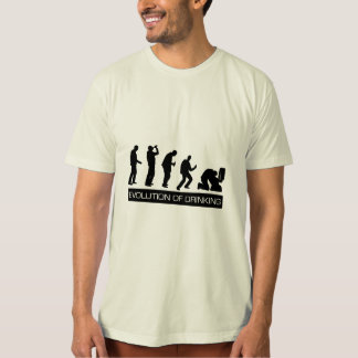 飲むことの進化 Tシャツ