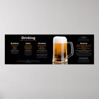 飲むこと: 宗教対科学 ポスター