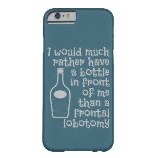 飲むユーモアカスタムな色のケース BARELY THERE iPhone 6 ケース