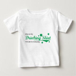 飲むワイシャツのはしご酒- St pattys day ベビーTシャツ