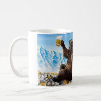 """""""飲んで""""マグを発芽させます コーヒーマグカップ"""