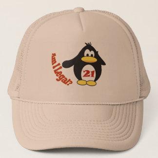 飲酒年齢のPinguinの帽子 キャップ