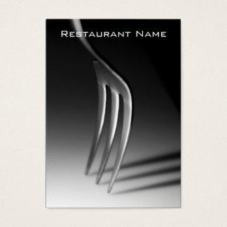 飲食業カード チャビ―名刺
