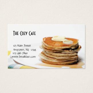 飲食業カード 名刺