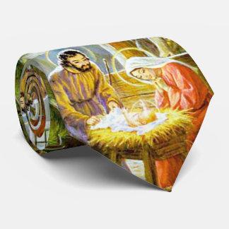 飼い葉桶のクリスマスの出生のイエス・キリスト オリジナルタイ