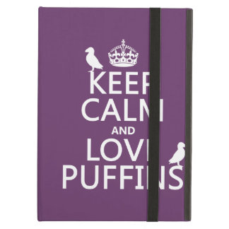 飼って下さい平静および愛ツノメドリ(どの背景色でも)を iPad AIRケース