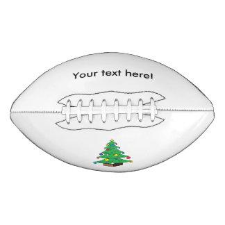 飾られたクリスマスツリーの漫画 アメリカンフットボール