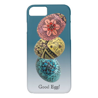 飾られた卵の電話箱 iPhone 8/7ケース