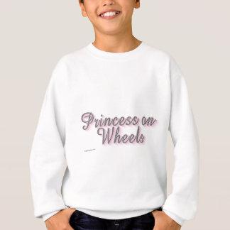飾りひものユーモア スウェットシャツ