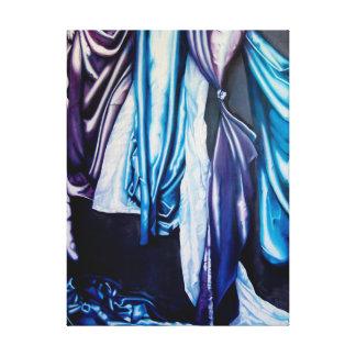 飾り布のキャンバスのプリントの勉強 キャンバスプリント