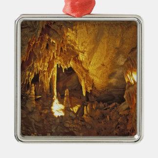 飾り布部屋、巨大な洞窟の国立公園、 シルバーカラー正方形オーナメント
