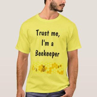 養蜂家の蜜蜂の巣の芸術のカスタムのワイシャツ Tシャツ
