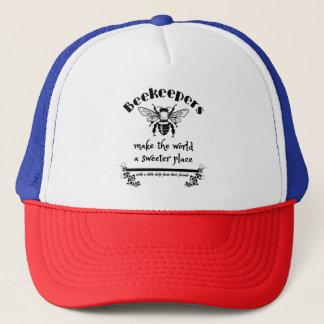 養蜂家は世界により甘い場所をします キャップ