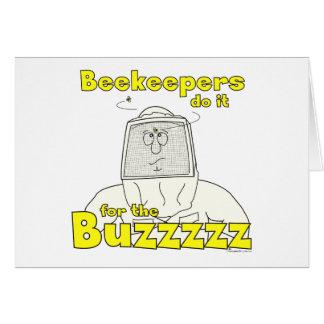 養蜂家はBuzzzzzのためのそれを-カードします カード