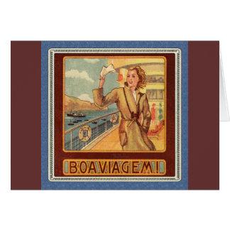 餞別の遠洋定期船 カード